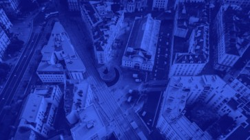 vue du ciel de Nantes